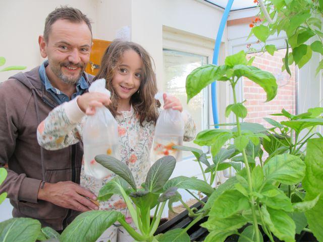 Is aquaponics a family activity?